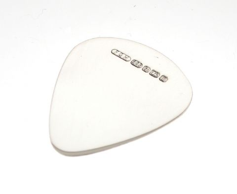 Sterling Silver Hallmarked Guitar Plectrum